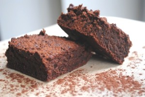 Cinnamon-spiked brownie